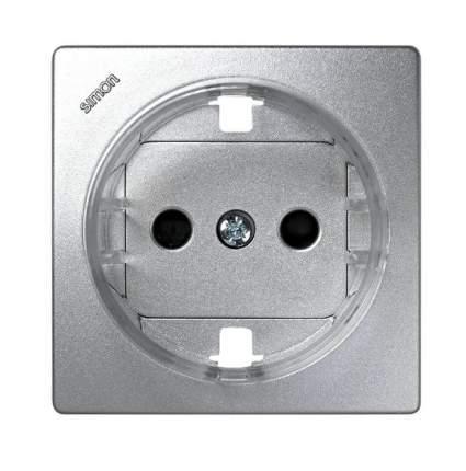 Накладка для розетки Simon 73 Loft 73041-63 Алюминий