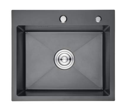 Кухонная мойка Gerhans K36045В из нержавеющей стали с PVD покрытием