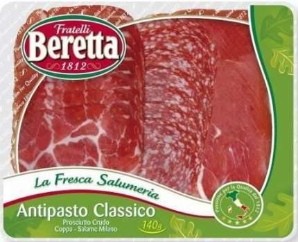 Нарезка Beretta мясная Antipasto Classico 120 г