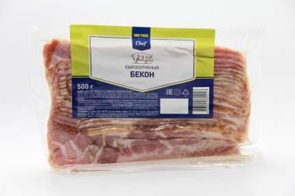 Бекон Metro Chef сырокопченый нарезка 500 г