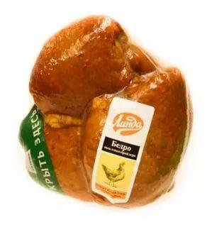 Бедро цыпленка-бройлера Линда копчено-вареное охлажденное ~1 кг