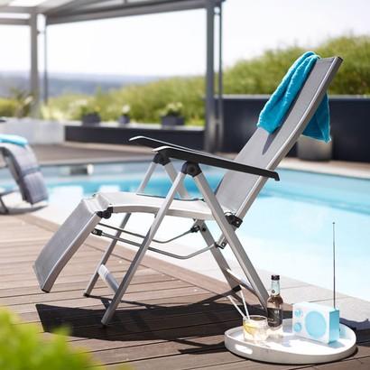 Кресло-шезлонг Kettler Friends 310516-0000 серый