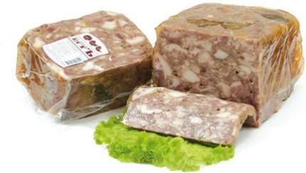 Мясо свиных голов ЕстЪ прессованное ~1 кг
