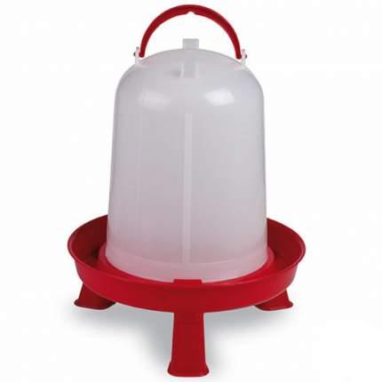 Поилка вакуумная для голубей, гусей, кур, уток Gaun 10942, 5 л, пластик