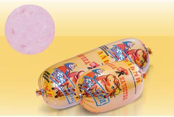 Ветчина Альми Фабрика качества свиная варено-копченая 700 г