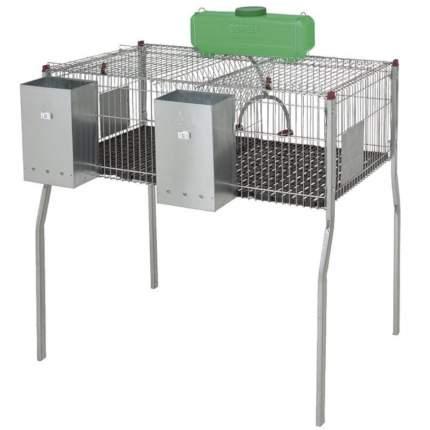 Клетка для кроликов Copele PENTA 2 двухсекционная, 105х69х99 см