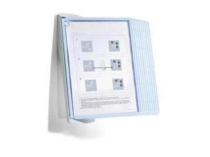 Демонстрационная система Durable Sherpa Bact-O-Clean Wall 10, 10 демопанелей, А4, ассорти