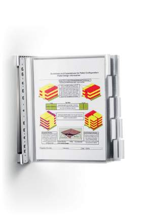 Демонстрационная система Durable Function Stainless Wall 10, 10 демопанелей