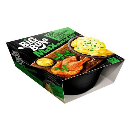 Пюре Big Bon По-Домашнему картофельное с кусочками тушеной курицы 110 г