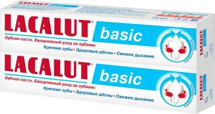Зубная паста LACALUT basic 75 мл 2 шт
