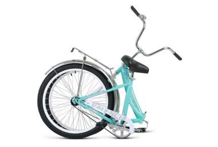 """Велосипед Forward Valenсia 24 1.0 2021 16"""" мятный/серый"""