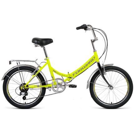 "Велосипед Forward Arsenal 2.0 2021 14"" ярко-зеленый/серый"