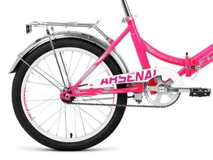 """Велосипед Forward Arsenal 1.0 2021 14"""" розовый/серый"""