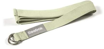 Ремень для йоги Reebok RAYG-10023GN, зеленый