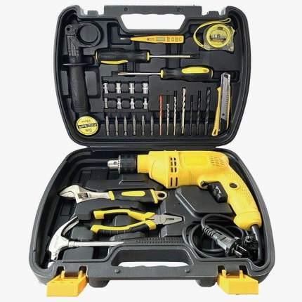 Набор инструментов с сетевой ударной дрелью 36 предметов GOODKING K51-21036
