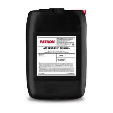 Жидкость Гидравлическая PATRON арт. ATF DEXRON VI 20L ORIGINAL 20л