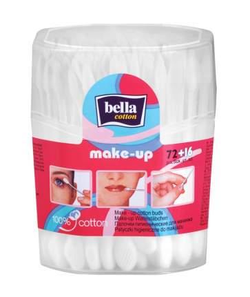 Ватные палочки Bella cotton Для макияжа make-up 72+16 шт