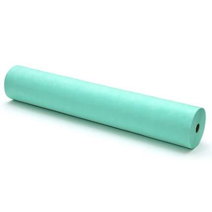 Простыня Чистовье Стандарт SMS, 200х80 см, мятная в рулоне, 100 шт