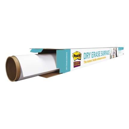 Покрытие cамоклеящееся маркерное Post-it DEF6X4, 120х180см, белое