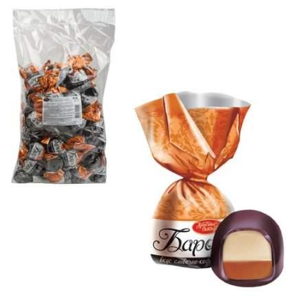 Конфеты шоколадные КРАСНЫЙ ОКТЯБРЬ Барокко, сливочно-кофейный крем, 1000 г, пакет, КО13343