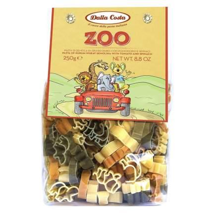 Макаронные изделия без яиц Dalla Costa 250 г, Зоопарк со шпинатом и томатами