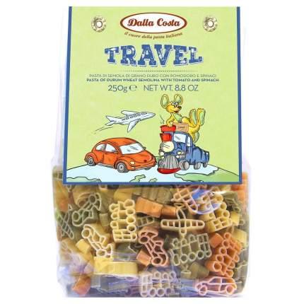 Макаронные изделия без яиц Dalla Costa 250 г, Путешествие со шпинатом и томатами)
