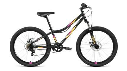 """Велосипед Forward Iris 24 2.0 Disc 2021 12"""" черный/оранжевый"""