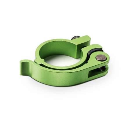 Хомут Trolo верхний с эксцентриком к Quantum, Pixel Зеленый