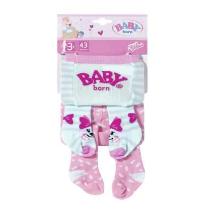 Одежда для куклы Zapf Creation Колготки Baby Born, 43 см