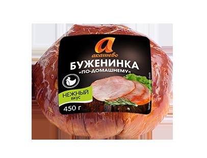 Буженина Акашево По-домашнему варено-копченая 450 г