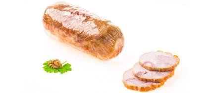 Рулет из мяса птицы Рефтинская ПФ Узорчатый варено-копченый ~ 1 кг
