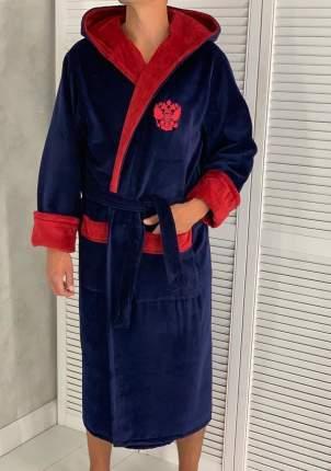 Домашний халат мужской КаВиТекс 65502 синий 58