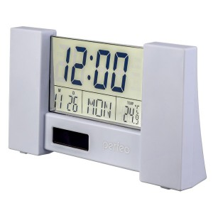 "Perfeo Часы-будильник ""City"", (PF-S2056) время, температура, дата"