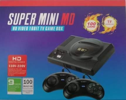 Игровая приставка 16 bit Super Mini MD 16 bit HDMI +100 встроенных игр