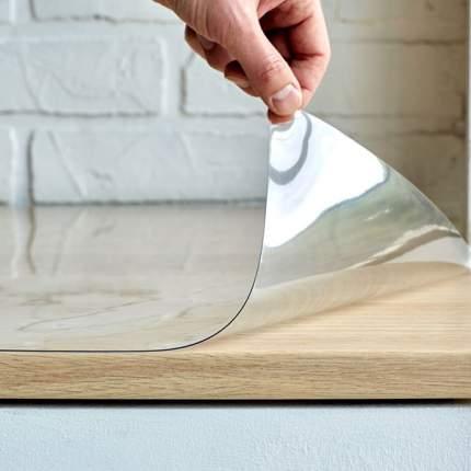 Скатерть гибкое стекло 120х60см, Dekorelle, толщина 0,8мм