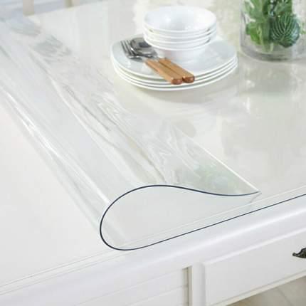 Скатерть гибкое стекло 120*80см, Dekorelle, толщина 0,8мм