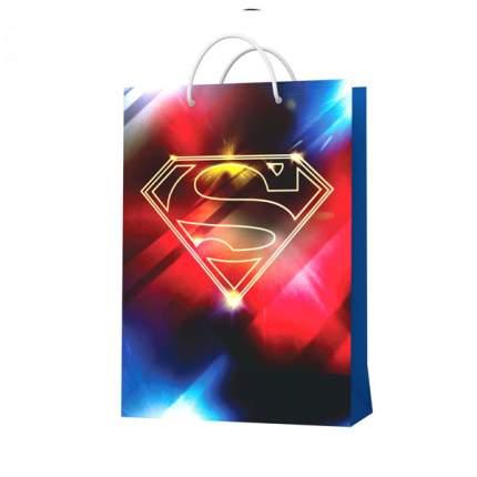 Пакет подарочный большой-2, 220*310*100 мм Superman 286215