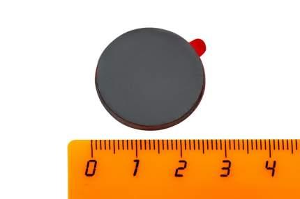 Ферритовый магнит Forceberg диск 25х3 мм с клеевым слоем, 4 шт,