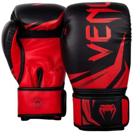 Venum Venum  боксерские тренировочные перчатки Challenger 3.0 черно- красные