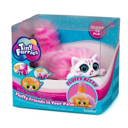 Интерактивная игрушка Tiny Furries Fluffy Kitties котенок Pixie