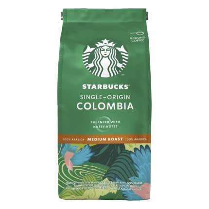 STARBUCKS Single-Origin Colombia, кофе молотый, средняя обжарка, 200 г