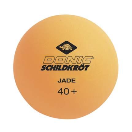 Мячики для настольного тенниса DONIC JADE 40+ (6 штук, оранжевый)