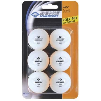 Мячики для настольного тенниса DONIC JADE 40+ (6 штук)
