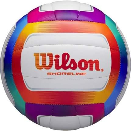 Волейбольный мяч Wilson Shoreline №5 white/orange