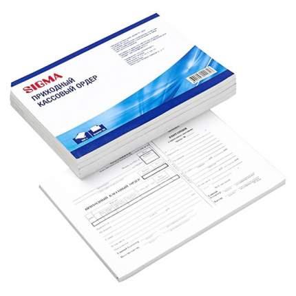 Бланки Sigma приходного кассового ордера А5 500 листов