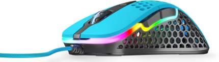 Игровая мышь Xtrfy M4 RGB (Miami Blue)