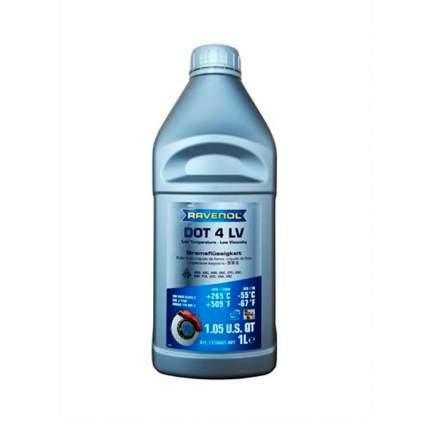 Тормозная жидкость RAVENOL DOT 4 LV (1л)