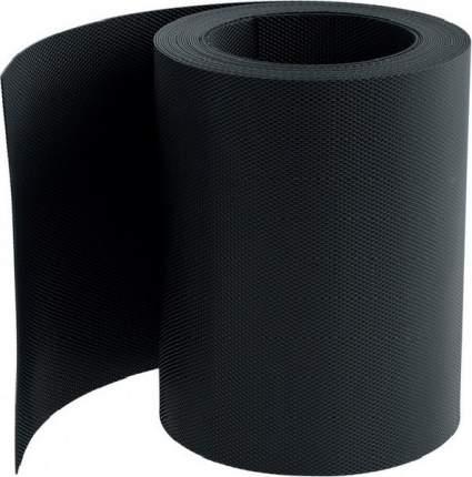 Бордюрная лента, черная, 20 см