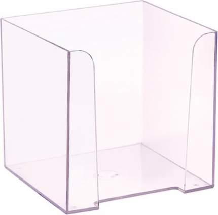 Лоток для бумаг Стамм 90х90х90 мм прозрачная