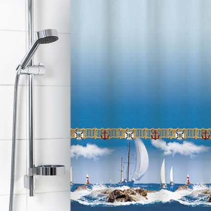 Штора для ванной комнаты 180х180см полиэстер 1580-1